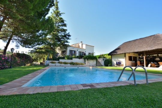 Close to Ronda – Villa, Pool, Guesthouse, 6 Beds, 5 Baths, Orchard & Olives.