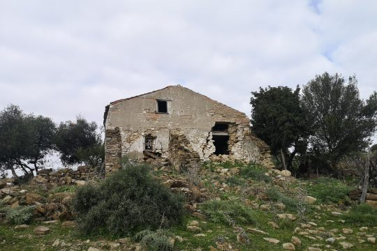Land & Cortijo for Renovation, Gaucin