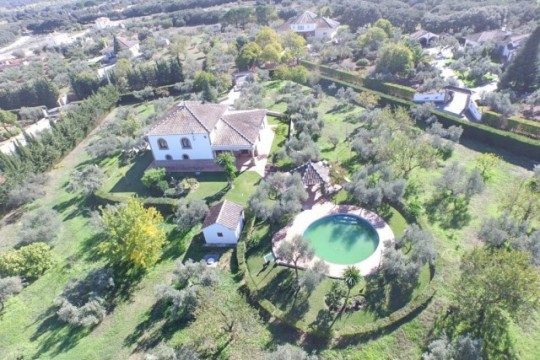 Country House close to Ronda, 4 Beds, Pool, Views
